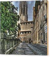 Girona Spain Wood Print
