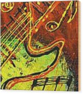 Gitar Wood Print
