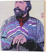 Giuseppe Garibaldi Wood Print