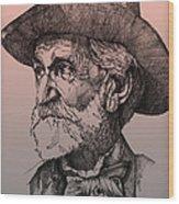 Giuseppe Verdi Wood Print