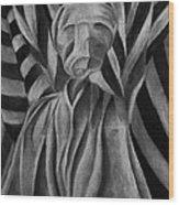 Give Us A Smile Sir Wood Print