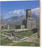Gjirokaster Castle Albania  Wood Print