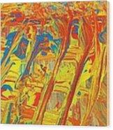 Gla Mour Wood Print