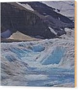 Glacial Meltwater 1 Wood Print