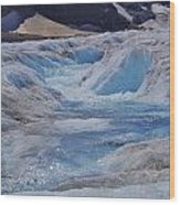Glacial Meltwater 2 Wood Print