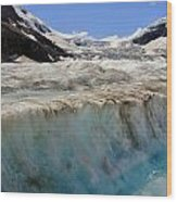 Glacial Meltwater 3 Wood Print