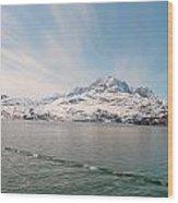 Glacial Sky Wood Print