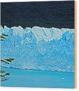 Glaciar Perito Moreno - Patagonia Wood Print