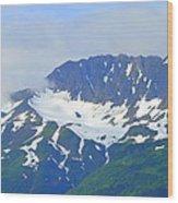 Glacier 1 Wood Print