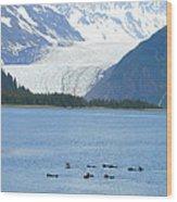 Glacier 10 Wood Print