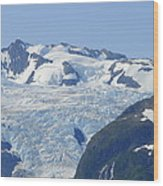 Glacier 12 Wood Print