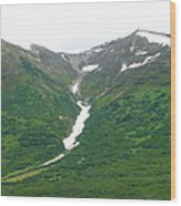 Glacier 14 Wood Print