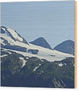 Glacier 17 Wood Print