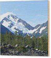 Glacier 4 Wood Print