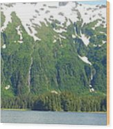 Glacier 7 Wood Print