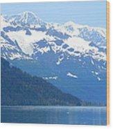 Glacier 8 Wood Print