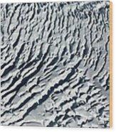 Glacier Abstract Wood Print