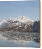 Glacier Bay 2 Wood Print