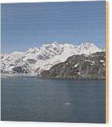Glacier Bay 3 Wood Print