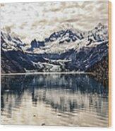 Glacier Bay Landscape - Alaska Wood Print