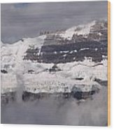 Victoria Glacier Mist - Lake Louise, Alberta Wood Print