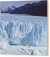 Glacier, Moreno Glacier, Argentine Wood Print