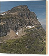 Glacier National Park Panorama Wood Print