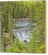 Glacier National Park Splendor Wood Print