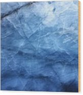 Glacier Of Glass Wood Print