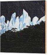 Glacier Onelli Wood Print by Arie Arik Chen