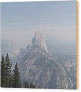 Glacier Point Panorama View Wood Print