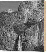 Glacier Point View 1 Wood Print