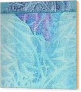 Glacier2 Wood Print