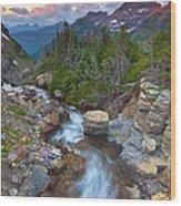 Glaciers Wild Wood Print