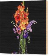 Glad Vase Wood Print
