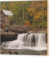 Glade Creek Grist Mill 10 Wood Print