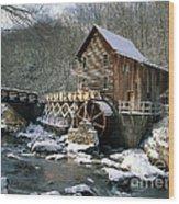Glade Creek Grist Mill In West Virginia Wood Print