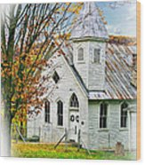 Glady Presbyterian 2 Wood Print