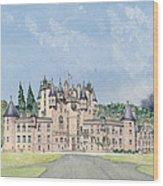 Glamis Castle Tayside  Wood Print
