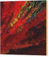 Glance Of Colors Wood Print