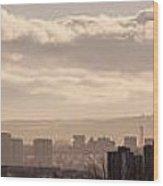 Glasgow Cityscape Wood Print