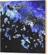 Glass Abstract 1 Wood Print