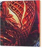 Glass Abstract 218 Wood Print