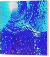 Glass Abstract 603 Wood Print