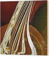 Glass Abstract 744 Wood Print