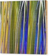 Glass Abstract 747 Wood Print
