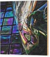 Glass Abstract 770 Wood Print