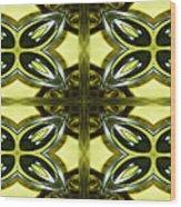 Glass Art 01 Wood Print