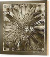 Glass Block Wood Print