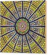 Glass Ceiling 1 Wood Print